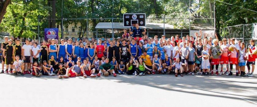 Юбилейный Кубок ООФБ по баскетболу 3х3: юноши и девушки сыграли яркие поединки в подарок Одессе ко Дню города