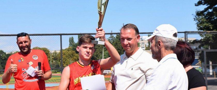В Черноморске прошел первый Международный юношеский турнир по баскетболу «Новый Черноморск»