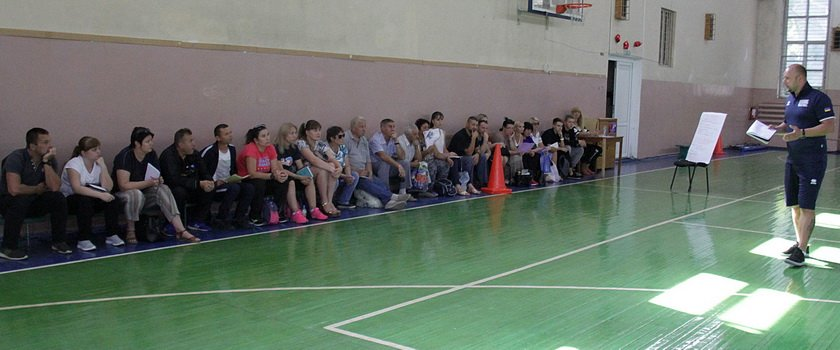 В Одессе завершились курсы лицензирования тренеров по баскетболу