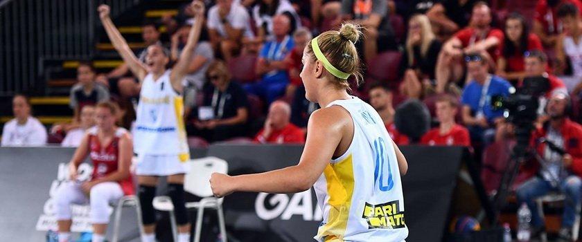 Одесситы в составе сборных U-23 пробились в четвертьфинал Лиги Наций по баскетболу 3х3