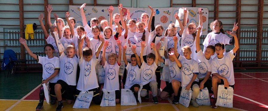 Титулованные одесские баскетболистки провели олимпийский урок