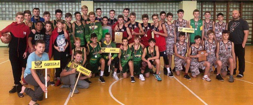Юноши СДЮСШОР имени Литвака 2006 г.р. выиграли первый этап Славянской баскетбольной лиги