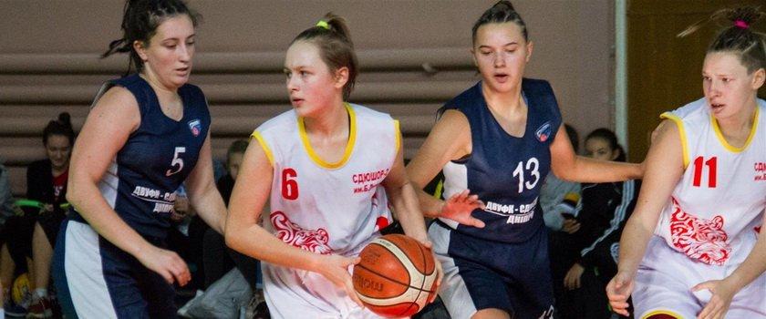 В Одессе состоялись матчи первого этапа чемпионата ВЮБЛ среди девочек 2003-2004 годов рождения