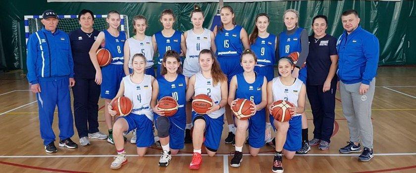 Одесситки в составе сборной Украины U-15 сыграют на турнире в Словакии
