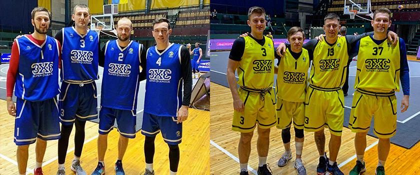 Одесские команды стартовали в Суперлиге Пари-Матч 3х3