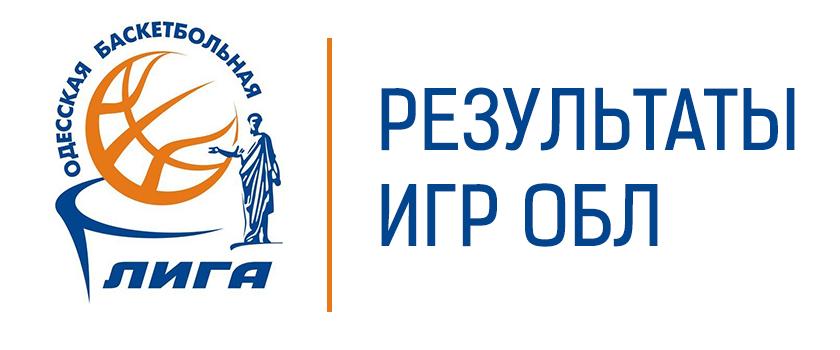 ОБЛ. Результаты игр на 11.07.2020