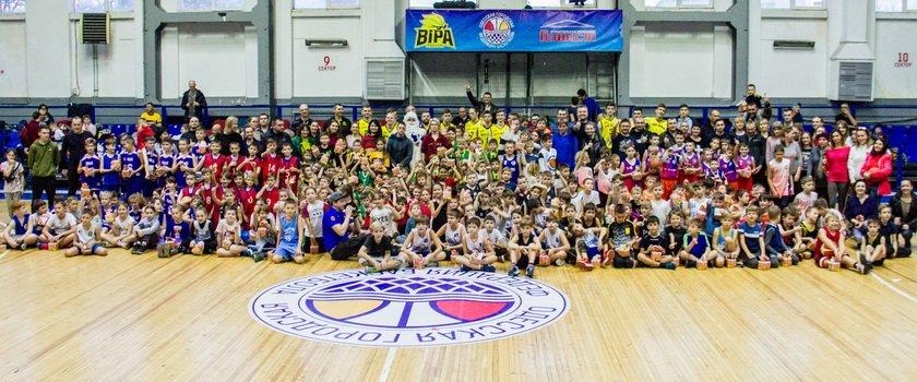 В Одессе прошел новогодний фестиваль детского баскетбола (+фото, видео)