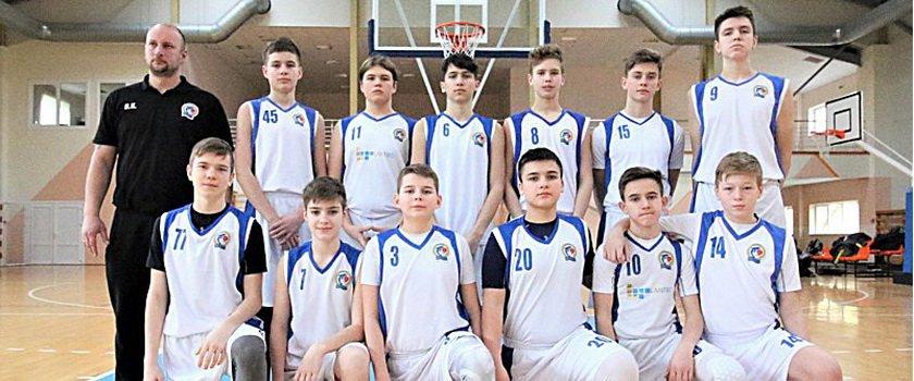Юноши ОБШ имени Белостенного взяли стопроцентный результат в туре Балтийской баскетбольной лиги