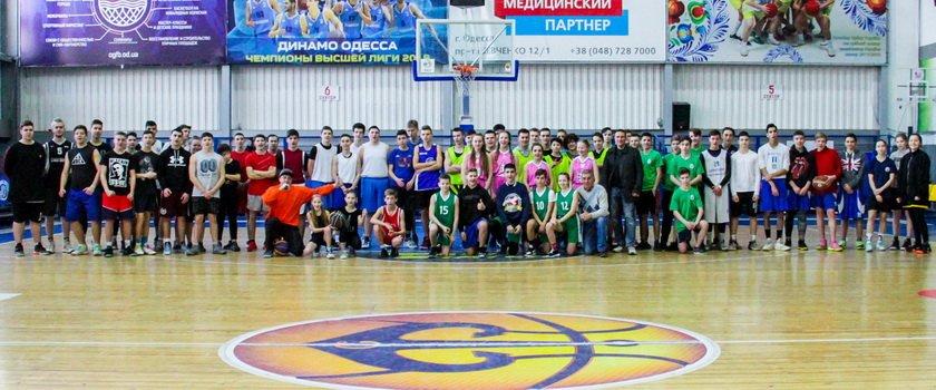 Состоялось первенство по баскетболу 3х3 Одесской Школьной Баскетбольной Лиги в Малиновском районе