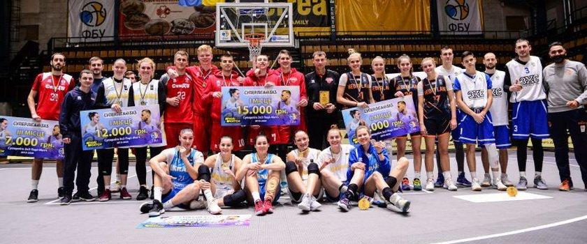 В Киеве прошел третий тур Суперлиги Пари-матч 3х3
