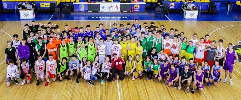 Состоялись первенства по баскетболу 3х3 Одесской Школьной Баскетбольной Лиги в Суворовском и Киевском районах