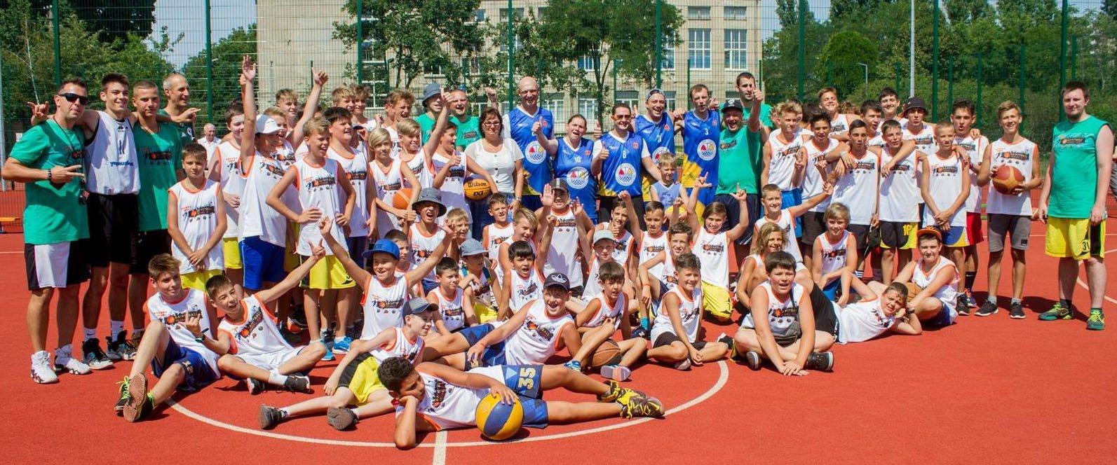 В Одессе прошел первый баскетбольный кэмп для школьников (+фото, видео)
