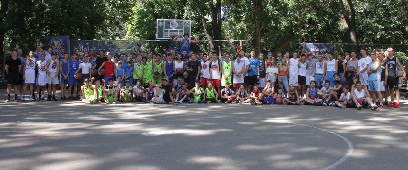 В Одессе прошел самый массовый в Украине турнир по баскетболу 3х3 «Street Game Odessa»