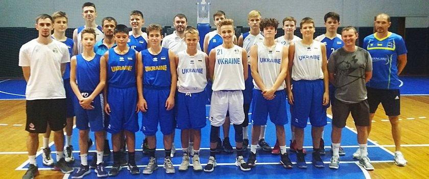 Одесситы приняли участие в тренировочном цикле сборной Украины 2006 года рождения