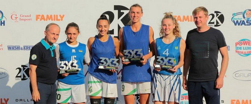 Одесситки выиграли четвертый тур чемпионата Украины по баскетболу 3х3