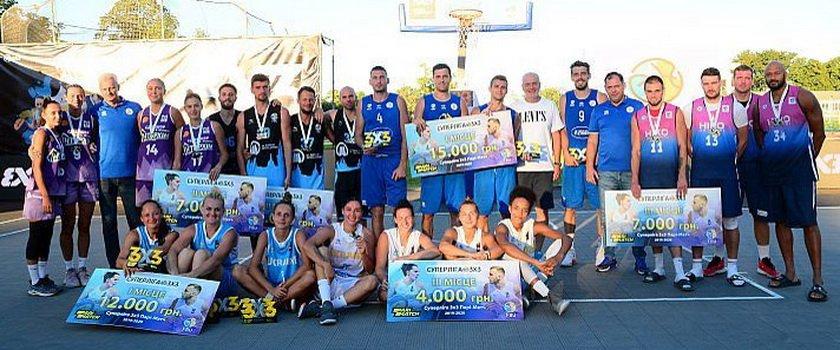 Одесские команды – призеры Суперлиги по баскетболу 3х3!