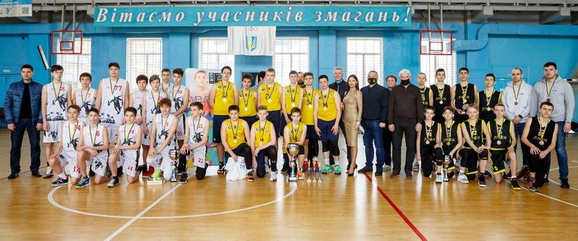 В Кропивницком завершилась финальная часть ВЮБЛ среди юношей 2007 года рождения