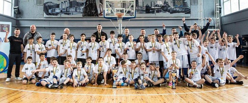 Юноши СДЮСШОР имени Бориса Литвака 2010 года рождения финишировали на третьем месте ВЮБЛ