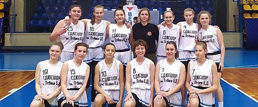 Девушки СДЮСШОР имени Бориса Литвака 2006 года рождения заняли пятое место ВЮБЛ