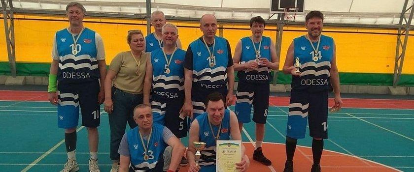 Одесситы - чемпионы традиционного Всеукраинского турнира среди ветеранов!
