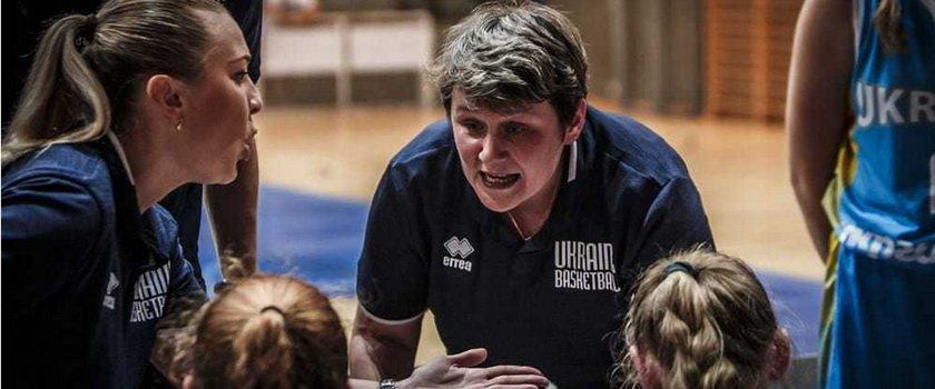 Две одесские баскетболистки тренируются в составе женской сборной Украины U-15