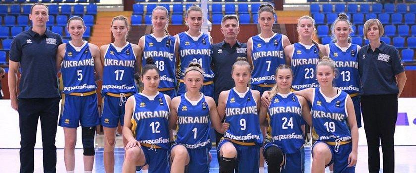 Одесситки в составе женской сборной Украины U20 сыграли в Еврочеленджере