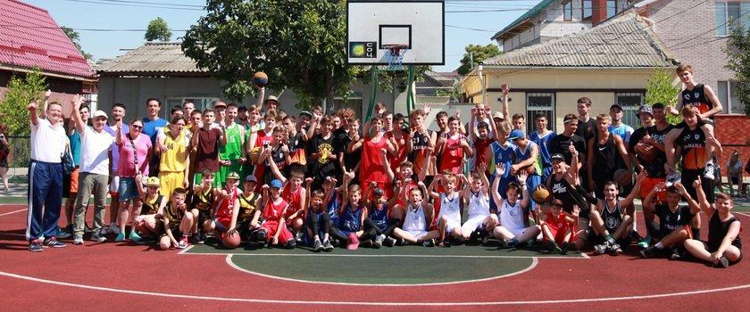 В Измаиле и Килии прошли отборочные этапы Открытого чемпионата Одесской области по баскетболу 3х3