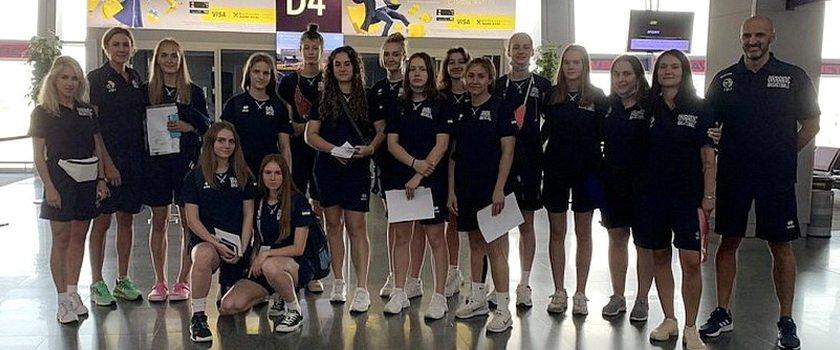 Одесситка в составе сборной Украины U18 отправилась на Еврочеленджер в Болгарию