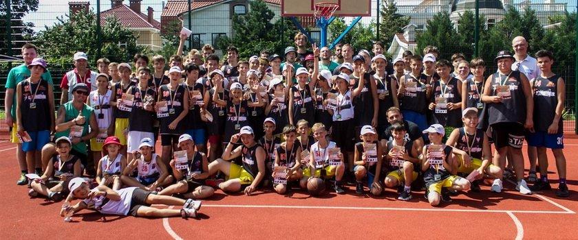В Одессе состоялся «Basketball School Camp 2021»