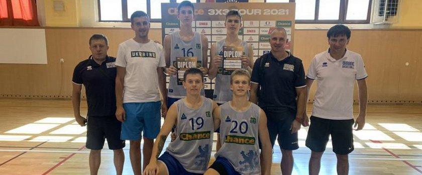 Воспитанники одесских школ в составе сборной Украины U17 сыграли на турнирах 3х3 в Чехии и Польше