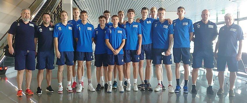 Одесситы в составе мужской сборной Украины U-16 стартовали в Еврочеленджере