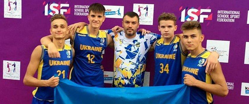 Одесситы в составе сборной Украины завоевали бронзовые медали Всемирных школьных игр