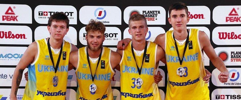 Воспитанники одесских школ в составе сборной Украины завоевали серебряные медали чемпионата Европы