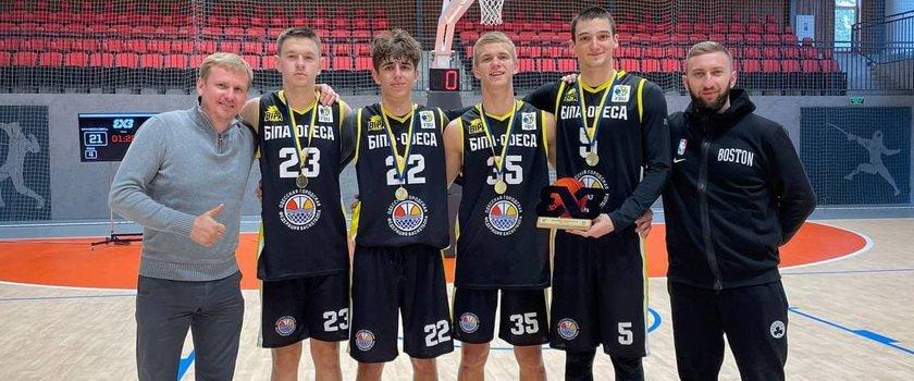 «БИПА-Одесса-СДЮСШОР» выиграла два тура чемпионата Украины U-18 по баскетболу 3х3